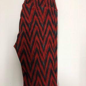 LuLaRoe Chevron Leggings-One Size NWOT